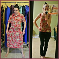 Check this out...she totally refashions everything she finds at the goodwill/thrift