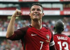 Ronaldo was absent from the last two Portugal games and played 45 minutes against Estonia...