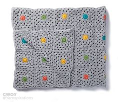Pin Point Crochet Blanket - Patterns  | Yarnspirations