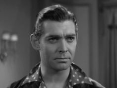 Young moustache-less Clark Gable in The Night Nurse Barbara Stanwyck, Mutiny On The Bounty, It Happened One Night, Night Nurse, Pre Code, Supporting Actor, Clark Gable, Classic Movies, For Stars