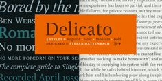 Delicato Pro - Webfont & Desktop font « MyFonts