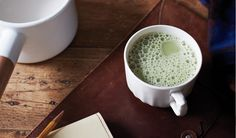 Swap out your morning coffee with matcha for an antioxidant boost.
