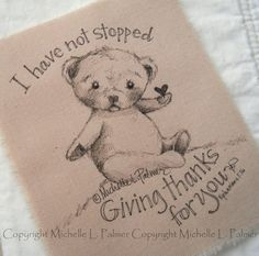 Original Pen Ink Fabric Illustration Quilt Label by Michelle Palmer Love Teddy Bear Bumble Bee Mouse August 2014 Pencil Art Drawings, Animal Drawings, Ink Pen Art, Bear Coloring Pages, Sketch Journal, Quilt Labels, How To Finish A Quilt, Ink Illustrations, Black And White Pictures