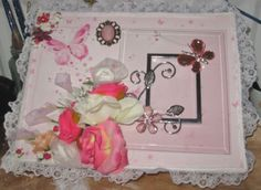 Shabby chic memory box by Diane Stringer
