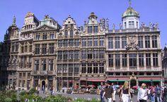 Guildas, Bruxelas, Grand Place, Bélgica