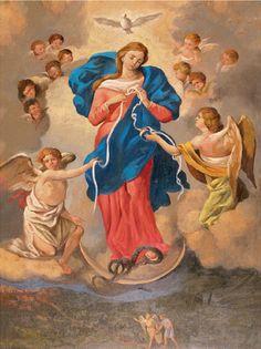 La preghiera alla Vergine Maria che sciolglie tutti i nodi che recita anche Papa Francesco tutte le sere.