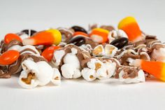 It's salty and sweet and it's the PERFECT treat to share with your favorite little ghost or goblin. Stop in and pick up a bag of our delicious CANDY CORN POPCORN today!  Don't miss your chance to enjoy this seasonal indulgence. Call us today with your order.