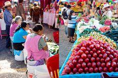Tepotzlan Market in Cuernavaca, Morelos , Mexico