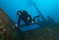 Peltastis shipwreck, Croatia