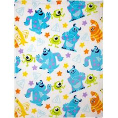 Monsters Inc. More sweet than scary, this set features Mike, Sully and your favorite friends from Monsters, Inc. Combines with any Monster, Inc. 1 Plush Blankets (Size: 30 in. Monsters Inc Nursery, Mobiles For Kids, Crown Crafts, Boy Nursery Bedding, Plush Baby Blankets, Disney Monsters, Go To Walmart, Precious Children, Baby Store