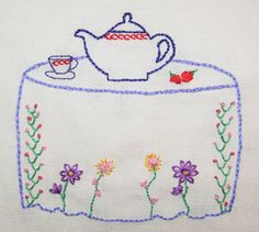Picture embroidery patterns