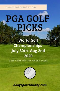 PGA Golf Picks and PGA Golf Preview for the World Golf Championships FedEx St Jude Invitational at TPC Southwind in Memphis Tennessee # golf #golftips Golf Picks, Pga Tour Golf, Golf Pga, Fantasy Golf, Dublin Ohio, Golf Betting, Daily Fantasy
