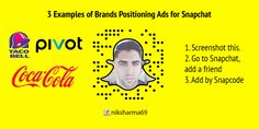 3 brands with excellent #SMM campaigns on #Snapchat.