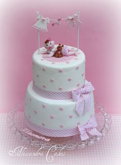 baptism cake by Alessandra Cake Designer, via Flickr