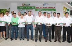 Ponemos en marcha el primer centro de acopio de basura electrónica ubicado en la colonia Ampliación Unidad Nacional