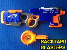 Here at Backyard Blasters we love all kinds of toy guns and blasters, so heres your weekly dose of Nerf! This is one of our favorite fly wheel blasters - The Nerf Hyper-fire!  #nerf #nerfwar #nerfgun #nerfwars #nerfguns #nerfmod #nerfrival #hasbro #hyperfire #nerfnation