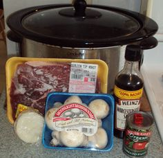 "Crockpot Tuesday - Beef Sirloin Tip with Mushrooms - The Coupon ""High"""
