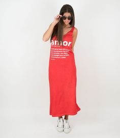 "Vestido ""tirantes AMOR"" www.aireretro.es #aireretro #vestido #dress #moda #ilustracion #diseño #design #illustration #boho #bohochic #hippiestyle #hippie #look #blogger #bloggers  #outfit"