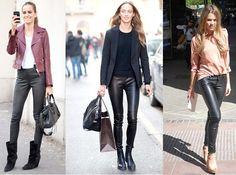 #Cuero #Pitillos #Moda #Tendencias #Fashion