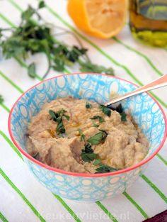 Baba ganoush - vegetarische aubergine-dip