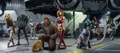 Commission: Kinyen Strider Group by Jedi-Art-Trick