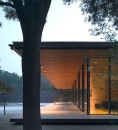 "styletaboo: ""Kraaijvanger Architects - Dutch Ambassador's Residence [Beijing] "" Residential Architecture, Interior Architecture, Contemporary Architecture, Japanese House, Glass House, Modern House Design, Exterior Design, Future House, Beautiful Homes"
