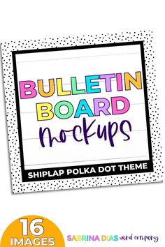 Teacher Sellers showcase your classroom decor resource with these bulletin board mockups. If you are looking to simplify your teacher seller life then mockups are for you!