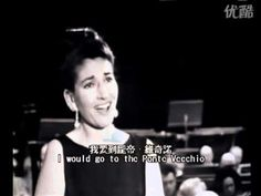 """Maria Callas 1965 """"Oh Mio Babbino Caro"""" (high quality) -- Today, I listened to this and for the first time, I finally get it, why Maria was considered a true diva -- lovely performance."""