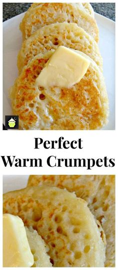 Perfect Warm Crumpets Great for breakfast or anytime! Serve with your favorite Perfect Warm Crumpets Great for breakfast or anytime! Serve with your favorite jam or eggs and bacon delicious whichever way you like them! Source by tnoland Breakfast Desayunos, Breakfast Recipes, Breakfast Ideas, Breakfast Crumpets, English Crumpets, Simply Yummy, Scones, Superfood, Afternoon Tea