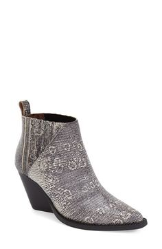 Jeffrey Campbell 'Vaquero' Western Bootie (Women) available at #Nordstrom