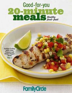 FREE e-Cookbook: Family Circle 20-Minute Meals!