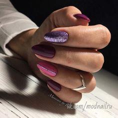 Amazing Tips For The Best Summer Nails – NaiLovely Shellac Nails, Nail Manicure, Toe Nails, Glitter Nails, Stylish Nails, Trendy Nails, Cute Acrylic Nails, Purple Nails, Perfect Nails