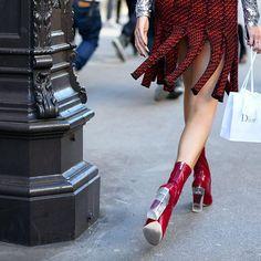 @chiaraferragni killing it with @dior #PFW #SS16  www.off-catwalk.com  #italian #fashionblogger #designer #model #girl #chiaraferragni #parisfashionweek #fashionweek #paris #france #street #style #streetstyle #streetfashion #fashion #nofilter #boots #skirt #offcatwalk #jlopezespinoza