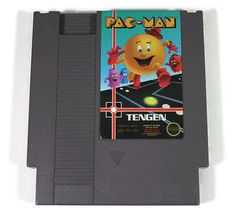 Pac Man Nintendo NES 1987 Retro Video Game by Retro8Games on Etsy