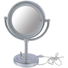 Golo Pedestal Vanity Mirror with Surround Light  #hevo #dubai #onlineshopping #islamic #aluminium #myabudhabi #frame #arcolamp #lighting #homefurnishings #dubaidesign #furniture #homedecor #lamp #ConcreteBaseLamps
