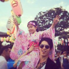 Miyavi with his daughter :)