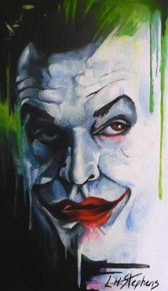 Joker Jack by sullen-skrewt on DeviantArt The Man Who Laughs, In The Pale Moonlight, Jokers Wild, Heath Ledger Joker, Joker Art, Im Batman, Dc Movies, Face Characters, Comic Games