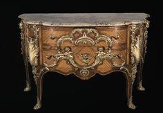 Commode dite commode aux singes Cressent Charles (1685-1768) Paris, musée du Louvre