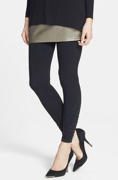 fe08465599c NEW Spanx Large Black Tout  amp  About Side-Ruched Shaping Leggings NWT  Gorgeoous!