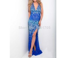 Free shipping Sexy Halter Beaded Backless Blue Prom dress 2014 Slitted Floor Length Evening Gowns 2014 New Fashion $139.00 Prom Dress 2014, V Neck Prom Dresses, Homecoming Dresses, Formal Dresses, Bridesmaid Dress Colors, Cheap Dresses, Evening Dresses, Party Dress, Fashion Dresses