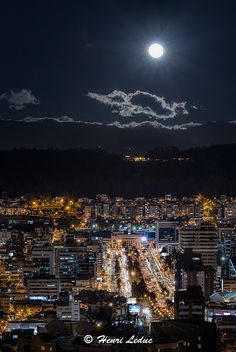 Blue moon over Quito | by Vojvoda Fine Art Photography (back again)