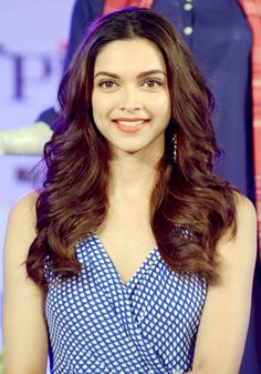 Deepika Padukone promoting her film 'Piku'.