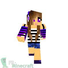 minecraft skins for girls | Minecraft Ice Girl Skin Blue-ice-panda ...