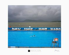 Signed Magnum Collection Poster: Gourock Lido, Scotland. 2004. - Martin Parr – Magnum Photos
