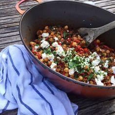 Healthy Diners, Healthy Snacks, Healthy Recipes, Clean Recipes, Cooking Recipes, Happy Foods, Evening Meals, Greek Recipes, Feta