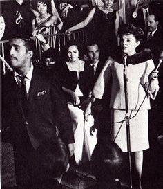 Judy and Sammy Davis Jr