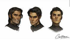 Cassian, Rhys, Azriel