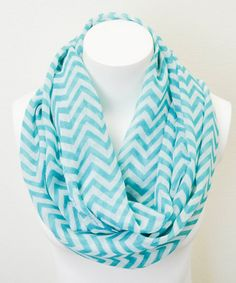 Look what I found on Turquoise & White Chevron Infinity Scarf by Leto Collection Cozy Scarf, Scarf Hat, Chevron Infinity Scarves, Turquoise Chevron, Cents Of Style, Cute Scarfs, Look Cool, Passion For Fashion, Ideias Fashion