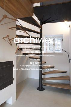 Stairs archiweb.cz - Rekonstrukce usedlosti v Jižních Čechách