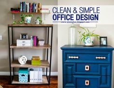Interior Fun: How to Organize & Style Your Home Office